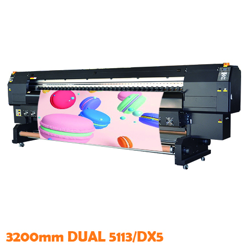3.2m Dual 5113 Sublimation Printer