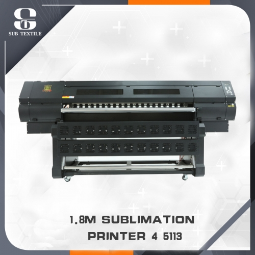 1.8m Four 5113 Heads Dye Sublimation Printers