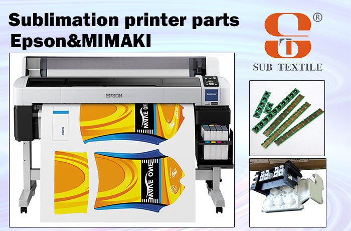 Hot EPSON & MIMAKI SUBLIMATION INK PRINTER MACHINE PARTS