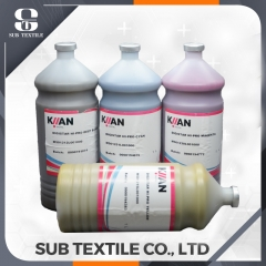 HI PRO Top Italy Kiian Digistar dye sublimation ink(C M Y BK ) for Epson DX-4/5 on sportswear