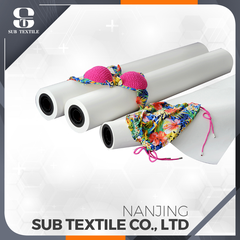 70gsm 1118mm high sticky sublimation printing paper for digital printing