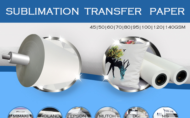 How to stored sublimation transfer paper after printed?