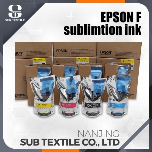 Epson  High Quality Original Sublimation Ink 4 COLOR (C.M.Y.BK) Manufacture Supplier