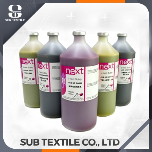 J-Next Subly JXS-65 Sublimation Ink With Chips For Digital Sublimation