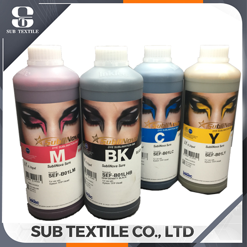 Inktec Sublinova Sure Original Korea  Dye Sublimation Ink for polyester and polyamide fabrics