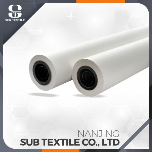 Fast Dry Heat Transfer Printing Paper Roll Inkjet Sublimation Paper 70gsm