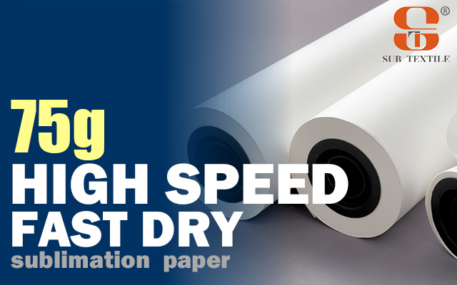 Fast dry sublimation paper for sale