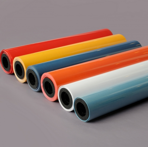 Flock  roll size heat transfer vinyl