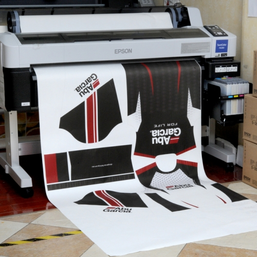 100gsm 44'' high sticky sublimation transfer paper for sportswear