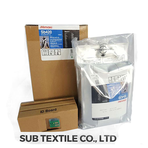 2L Ink Pack Mimaki SB420 Dye Sublimation Ink with Chip